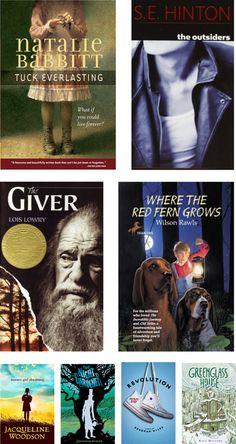 Grades 6-8: New Takes on Classic Novels... I like the outsiders idea