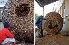 random weaving | harriet goodall handmade baskets