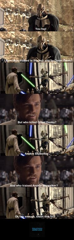 Super funny pictures no words humor Ideas - Super funny pictures no words humor Ideas - Star Wars Jokes, Star Wars Facts, Really Funny Memes, Stupid Funny Memes, Funny Humor, Hilarious, Cuadros Star Wars, Nave Star Wars, Prequel Memes