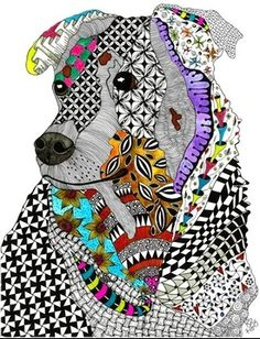 Kathleen's Art Creations, Whimsical Zentangle Inspired Art on Note Cards and Prints