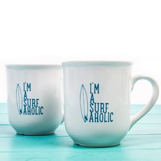 I'm a Surfaholic Mug new in at the SurfGirl Beach Boutique - A Treasure Chest for Surf Girls