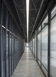 Office interior project by ARCH(E)TYPE  #archetype #office #interior #glass #lighting