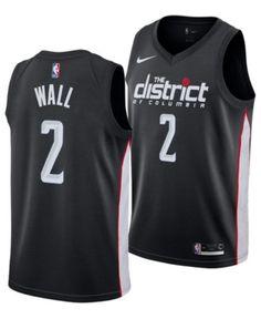 f0ab85ecdab Nike Men's John Wall Washington Wizards City Swingman Jersey 2018 - Black  M. Bradley BealJohn ...