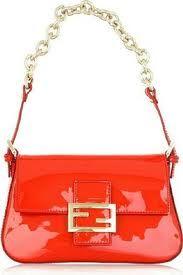 Fendi Mini Mama Orange Handbag