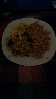 Riso curry ceci e altro! :)