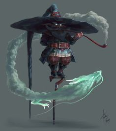 Wizard Master, Pedro Krüger Garcia on ArtStation at https://www.artstation.com/artwork/xx5mO