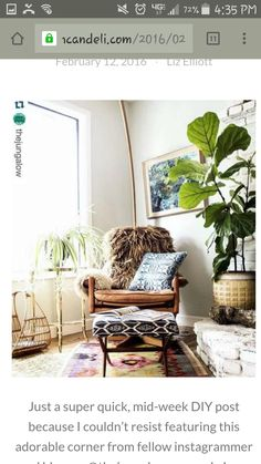 Love the look of this... Has a boho feel...