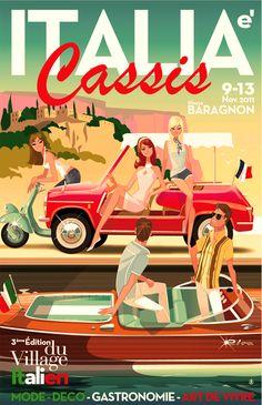 Italia-Cassis - esposizione di caffettiere antiche - Monsieur Z - 2011