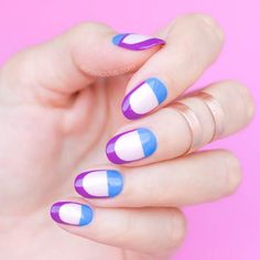 40 Easy Nail Art Designs for Beginners - Simple Nail Art Design Really Cute Nails, Cute Nail Art, Easy Nail Art, Love Nails, Fun Nails, Pretty Nails, Nail Art Designs 2016, Pretty Nail Designs, Simple Nail Art Designs