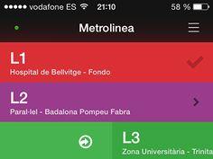 Metrolinea Barcelona by Karim Hossenbux