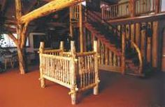 Build a log crib Log crib- with instructions. Tom always said he wanted to build our future children's crib. Think I may have found the one. Baby Boy Rooms, Baby Cribs, Log Crib, Baby Furniture, Children Furniture, Log Furniture, House And Home Magazine, Baby Decor, Future Baby