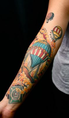 Air Balloon Tattoo