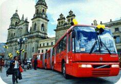 John Jairo Ortiz nos envía la fotografía del TransMilenio.