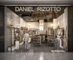 Дизайн интерьера магазина мужской одежды «DANIEL RIZOTTO» в ТРК «Меганом»…