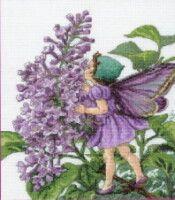 Gallery.ru / Фото #1 - 10 - rabbit17 Cross Stitch Fairy, Fairies, Embroidery, Plants, Faeries, Needlepoint, Sprites, Planters, Drawn Thread