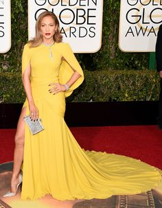 Jennifer Lopez in Giambattista Valli - golden globes 2016: red carpet