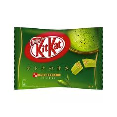 KIT KAT Matcha is one of the most popular Japanese snacks in the world.KIT KAT Matcha has a sweet matcha flavor mixed with creamy white chocolate, on crispy wafer. Thisbag contains 12 individually wrapped mini bars.  Producer: Nestle Country of Production: Japan Amount: 12 pcs Weight: 145g Delivery: Directly from Japan