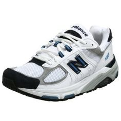 Click on the image for more details! - New Balance Men's MR1123 Running Shoe,White/Navy,9.5 EE (Apparel)
