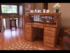 Stamp-n-Storage Roll Top Desk Tour. This is not in my Creative Corner, but I would LOVE for it to be!!