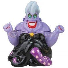 THE LITTLE MERMAID, Disney, Ursula Evil ~ Cookie Jar