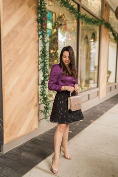 Holiday style outfit ideas with State at Nordstrom Holiday Fashion, Holiday Outfits, Holiday Style, Trendy Outfits, Autumn Fashion, Fashion Outfits, Winter Style, Outfit Trends, Outfit Ideas