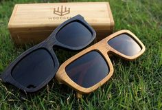 Bamboo sunglasses - No one has ever complained about having too many sunglasses.This summer look uber cool and stylish with these bamboo shades. The lenses are completely polarised and the super light weight makes them very comfortable to wear. So hurry!