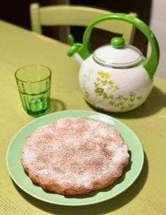 Torta velocissima di mandorle Dolce, Pudding, Bread, Cake, Desserts, Food, Tailgate Desserts, Pie, Puddings