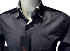 Chemise homme habillée grise anthracite