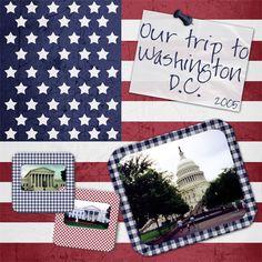 Washington DC - Scrapbook.com