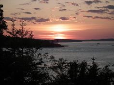 Beautiful Sunsets on Campobello Island