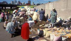 Warwick Avenue street vendors Warwick Avenue, Durban South Africa, Street Vendor