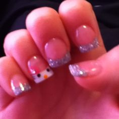 Hello Kitty nails! (: