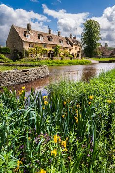 Cottages at Lower Slaughter, UK  Have walked these country villages