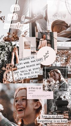 Anne With An E - Wallpaper por Daniela Alves Amybeth Mcnulty como Anne Shirley-Cuthbert Aesthetic Pastel Wallpaper, Aesthetic Backgrounds, Aesthetic Wallpapers, Collage Mural, Collage Background, Collages, Anne Shirley, Tumblr Wallpaper, Wallpaper Backgrounds