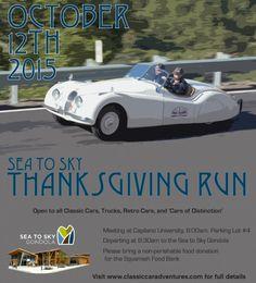 ThanksgivingRunPoster-2015Thanksgiving Monday, October 12th:  8:00-11:30am. We'll begin meeting at 8:00am, and depart at 8:30am.