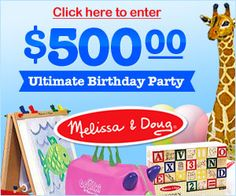 American Family: Melissa & Doug Sweepstakes on http://www.icravefreebies.com/
