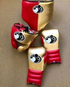 COMPLETE SET OF BOXING GLOVES GRANT PURE COWHIDE LEATHER(delivery before XMAS #Grant