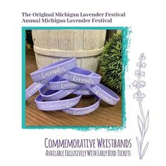 Annual Michigan Lavender Festival It's the LAST DAY to get your Early Bird Tickets! Yes, you can get tickets at the door. But for those of you who want to avoid the lines and skate right in, you'll get a little bonus! Admission + Expedited Check-In + Lisa Green, Lavender Sachets, Get Tickets, Early Bird, Free Gifts, Michigan, You Got This, About Me Blog, How To Get