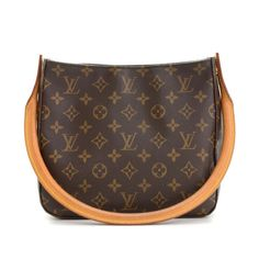 Louis Vuitton Monogram Looping MM Bag (Pre Owned). This is an authentic  LOUIS VUITTON Monogram Looping MM Bag. This unique handbag features a  swiveling ... 21b02b85c25ce