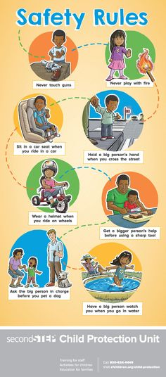 A FREE Safety Rules poster from #SecondStep to help Preschoolers learn how to stay safe!