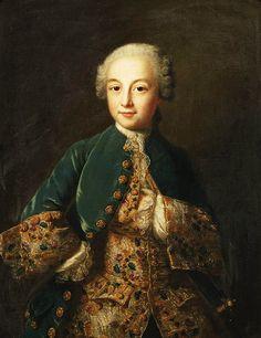 French School:    Portrait of a boy. 1760.