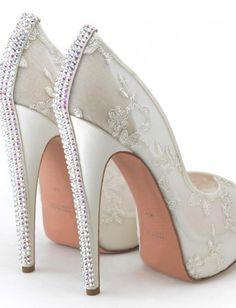 sapato de noiva com renda - Pesquisa Google