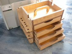 tool tote with sliding tray - Google Search