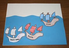 columbus day craft