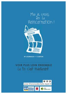 Ads, Graphic Design, Saint, Recycling, Movie Posters, French, Green, Upcycling, Rural Area