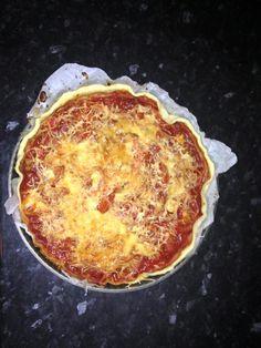tarte tomates thon