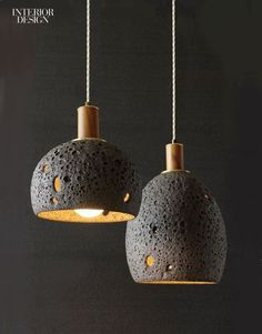 Bring on the brilliance: New Concrete Lighting Products #ConcreteLamp