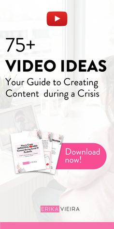 In this episode, I'm going to go over exactly how you should be creating content during this global pandemic. How should we best use this time? Download my free e-book with video ideas for this period. Erika Vieira, The YouTube Power Hour Podcast #ErikaVieira #TheYouTubePowerHourPodcast