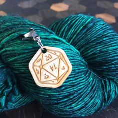 stitch marker, impress your gamer friends at knitting night. Created by Sleepy Sheep Workshop Crochet Tools, Knit Crochet, A Hook, Stitch Markers, Sheep, Workshop, Presents, Games, Night