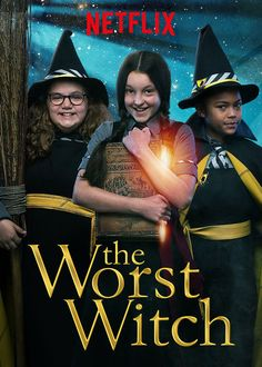 Join Mildred Hubble in CBBC& adaptation of The Worst Witch books, written by Jill Murphy. The post The Worst Witch appeared first on Films Netflix, Netflix Tv Shows, Netflix List, Witch Tv Series, Wicca, Tv Series 2017, Book Day Costumes, Season 2 Episode 1, The Last Unicorn